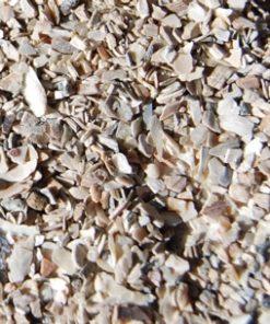 ostrea schelpenkalk bodem bio-ron, weide, duurzaam biologisch paarden