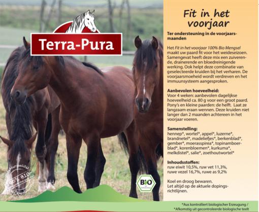 Kruiden voor paarden: Fit in het voorjaar
