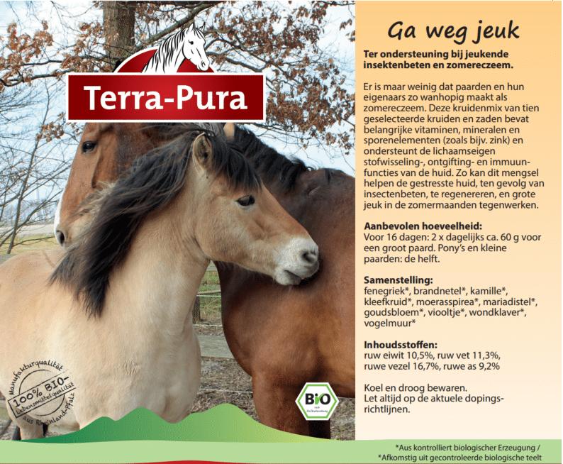 Kruiden voor paarden: Ga weg jeuk