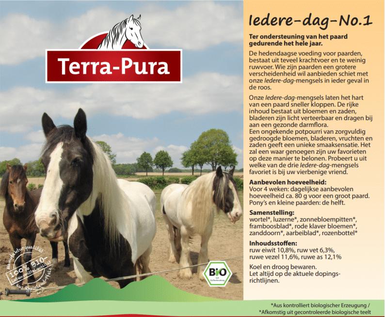 Kruiden voor paarden: Iedere dag no.1