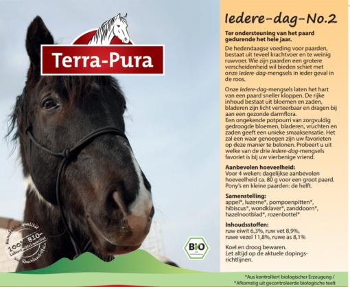Kruiden voor paarden: Iedere dag no.2