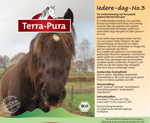 Kruiden voor paarden: Iedere dag no.3
