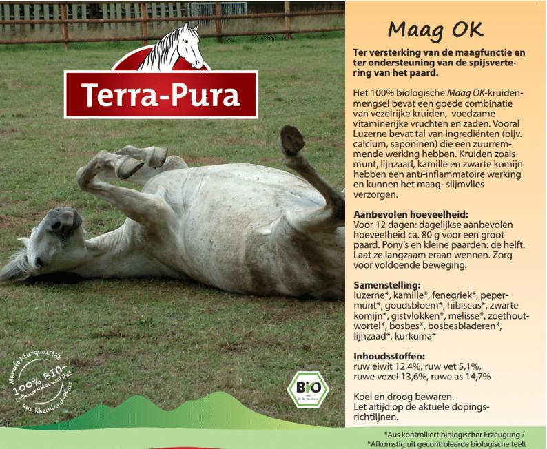 Kruiden voor paarden: Maag OK