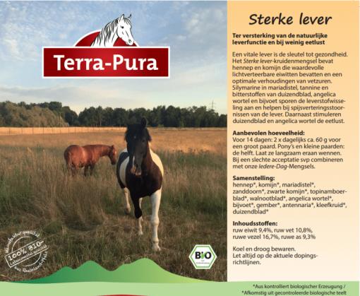 Kruiden voor paarden: Sterke lever