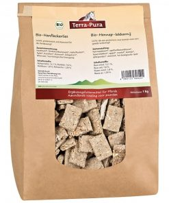 hennep koekjes snoepjes biologisch terra pura paard
