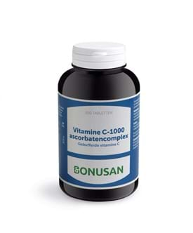 Vitamine c ascorbaten complex bonusan paarden supplement