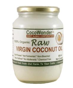 Raw Virgin Biologische Kokosolie cocosolie paarden