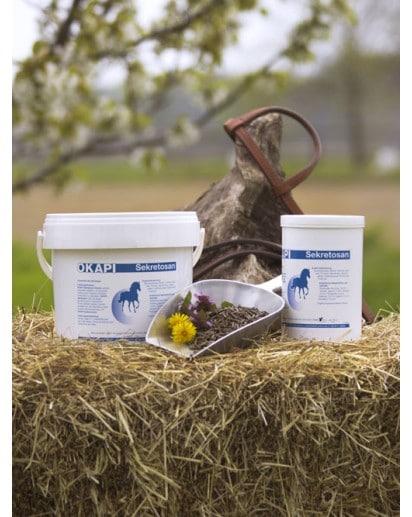 secretosan, pure horse, okapi, kruiden voor je paard, gezonde voeding
