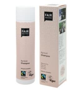 Fair Squared Apricot Shampoo, 100% vegan shampoo, gevoelige paardenhuid, reinigt de vacht en huid